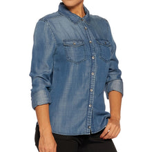 Load image into Gallery viewer, All American Girl Fitted Denim Shirt