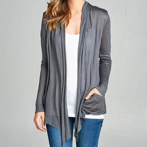 Lightweight Cardigan in Dusk PLUS