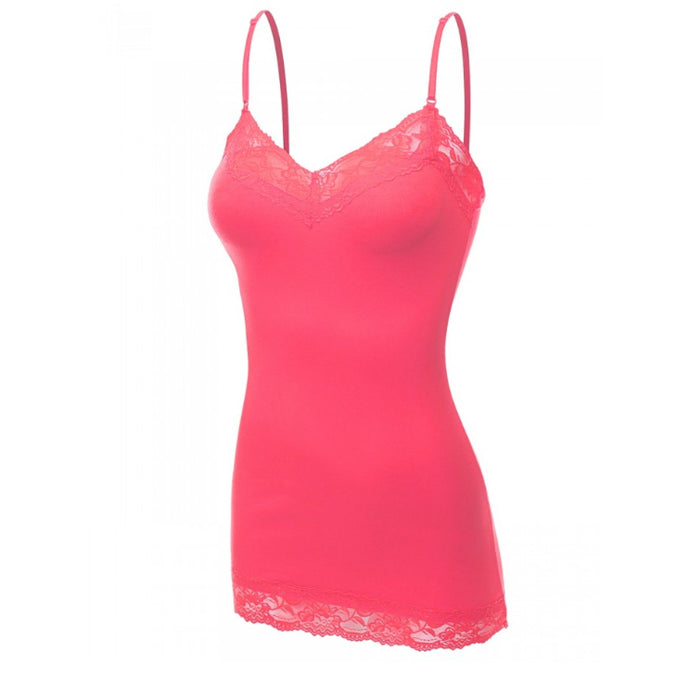 It Had to be You Lace Camisole in Coral