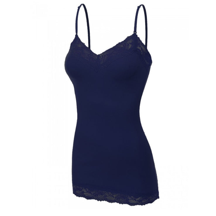 It Had to be You Lace Camisole in Navy