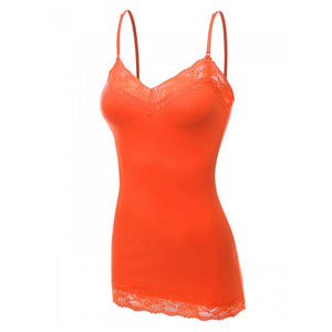 It Had to be You Lace Camisole in Orange