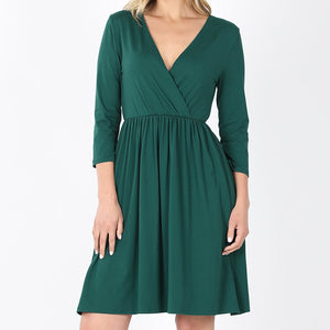 Pretty as You Please Dress in Green
