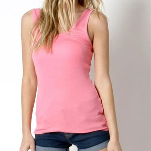 A Fine Romance Tank Top in Pink