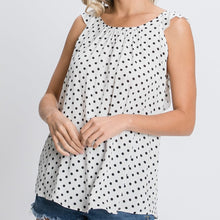 Load image into Gallery viewer, Forever Classic Polka Dot Ruffle Blouse
