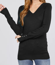Load image into Gallery viewer, Take Me in Your Arms Viscose Sweater in Black