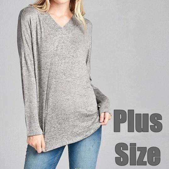 Gray Hacci Sweater