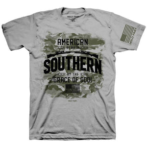 American by Birth Patriotic Cotton Tee MEN