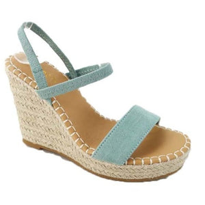 Sail the Sea Espadrille Wedges