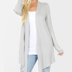 Wear With All Cardi Draped Cardigan in Gray