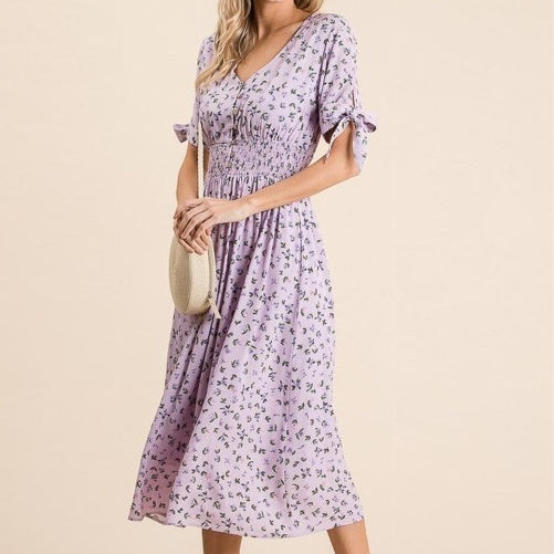 Best is Yet to Come Floral Midi Dress