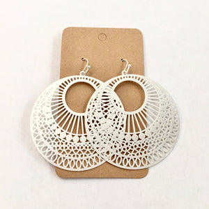 Round and Round Filigree Earrings