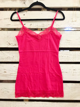 Load image into Gallery viewer, It Had to be You Lace Camisole in Bright Pink