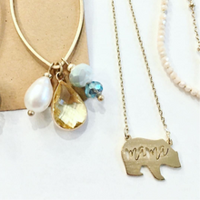 Load image into Gallery viewer, Mama Bear Necklace in Gold