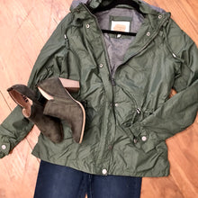 Load image into Gallery viewer, Carolina Girl Lined Windbreaker Jacket in Olive