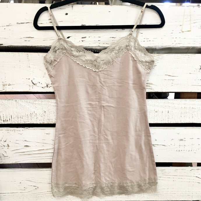 It Had to be You Lace Camisole in Light Mocha