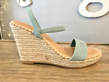 Load image into Gallery viewer, Sail the Sea Espadrille Wedges