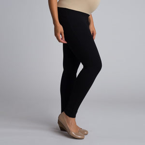 All Dressed Up Ponte Pants in Black MATERNITY