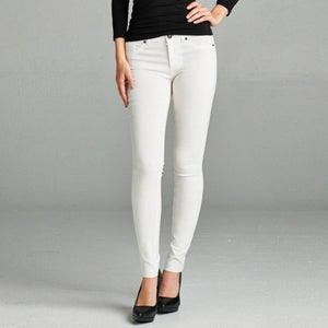 Looking Fabulous Skinny Stretch Pants in Off White