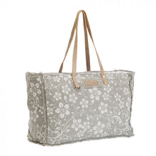 Load image into Gallery viewer, Green Chalky Weekender Bag by MYRA