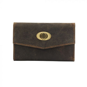 Dawn to Dusk Leather Wallet by MYRA