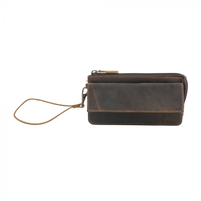 Perfect Tan Leather Wallet by MYRA