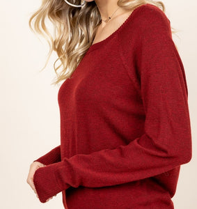 The Way You Look Tonight Dolman Sleeve Sweater
