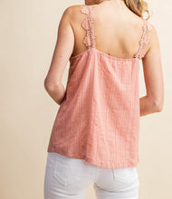 Load image into Gallery viewer, I Love Paris Button Down Camisole