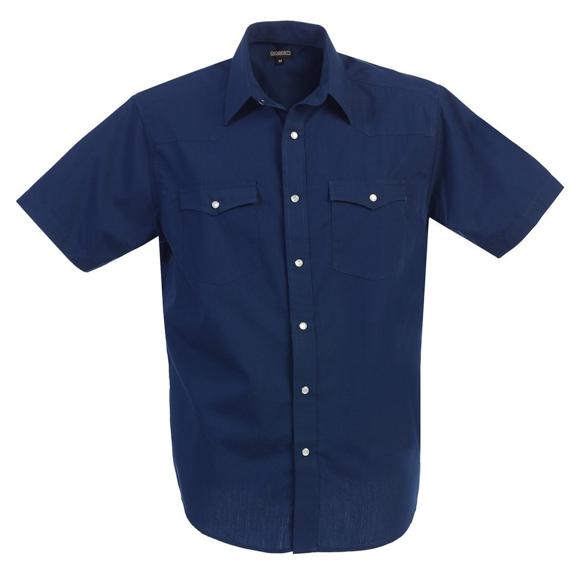 Western Classic Pearl Snap Shirt in Navy MEN