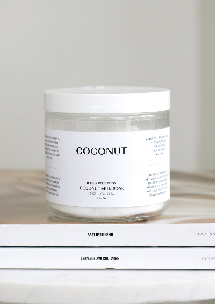 Coconut Milk Bath Soak | Z & CO