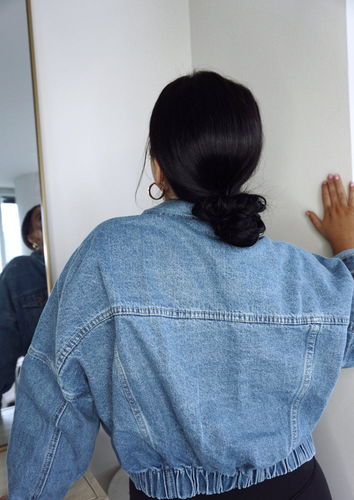 Alina Denim Jacket | Medium Wash