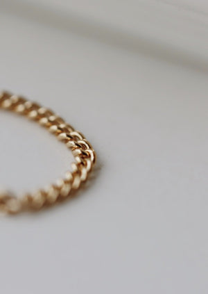 May Martin Lo Chain Ring | Gold Filled