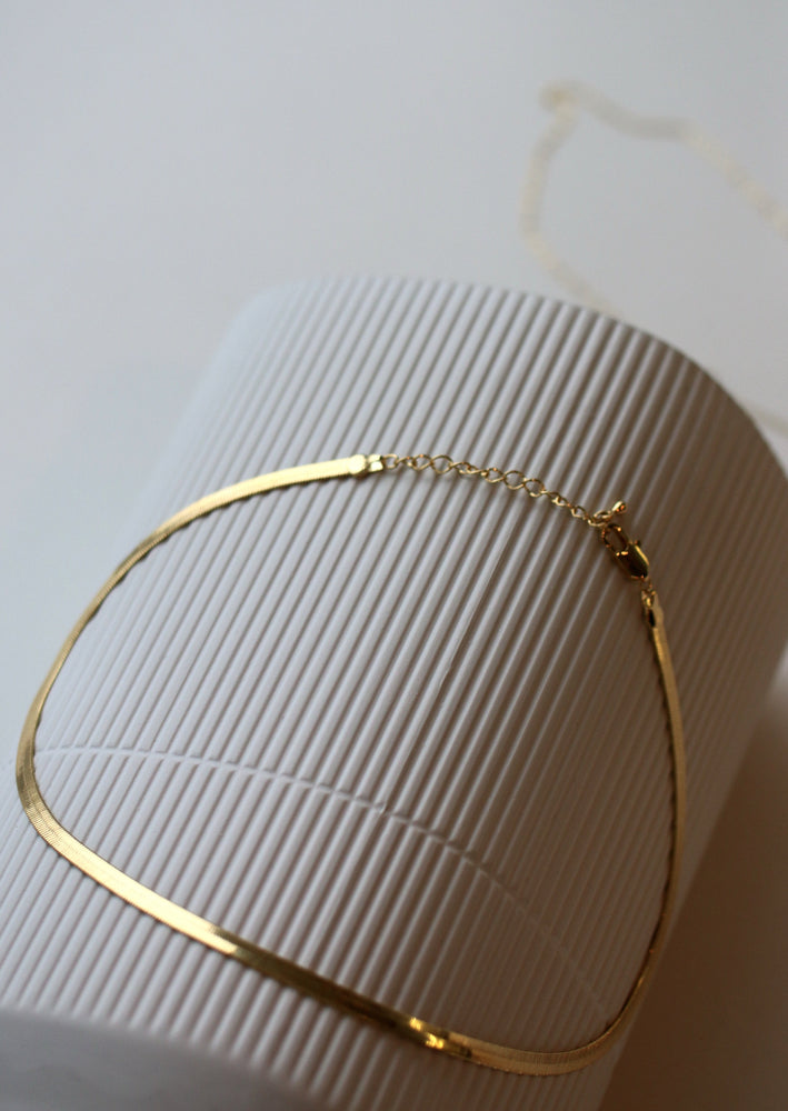 Load image into Gallery viewer, KW Herringbone Chain | Gold
