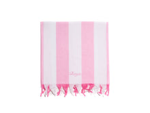 Laden Sie das Bild in den Galerie-Viewer. Cotton Peshtemal Birgie Rainbow- Pink - Birgie Home
