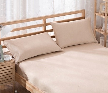%100 Cotton Pillowcases - Beige | 50 x 70 cm - Birgie Home
