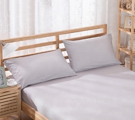 %100 Cotton Pillowcases - Grey | 50 x 70 cm - Birgie Home