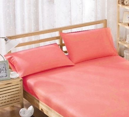 %100 Cotton Pillowcases - Coral | 50 x 70 cm - Birgie Home