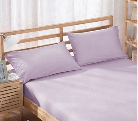 %100 Cotton Pillowcases - Lilac | 50 x 70 cm - Birgie Home