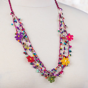 Handmade Traditional Birgi Necklace with Bead - Birgie Home