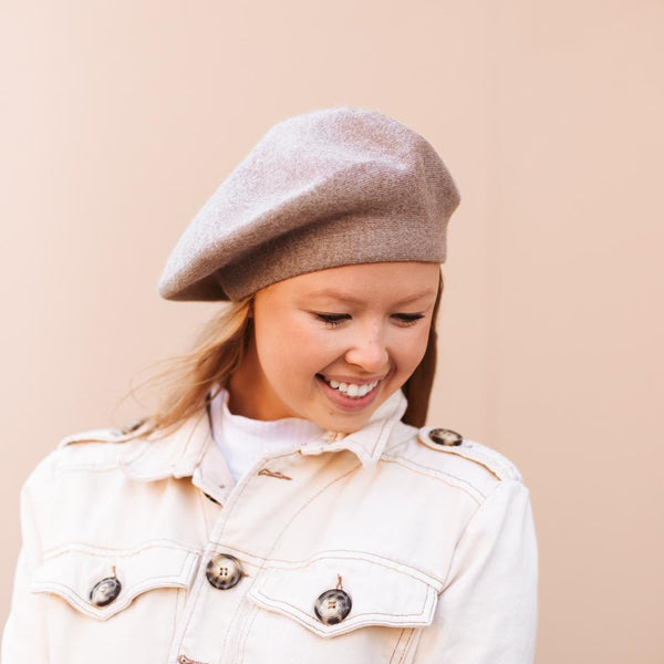 Cashmere French Beret