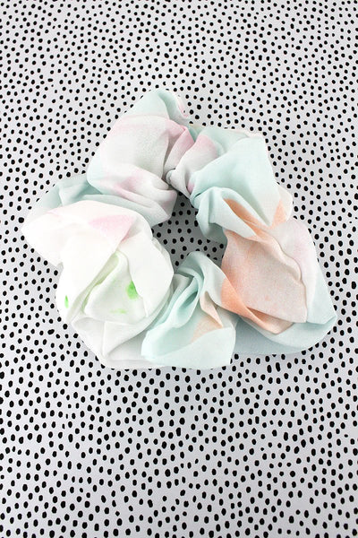 Rainbow Sherbert Scrunchie