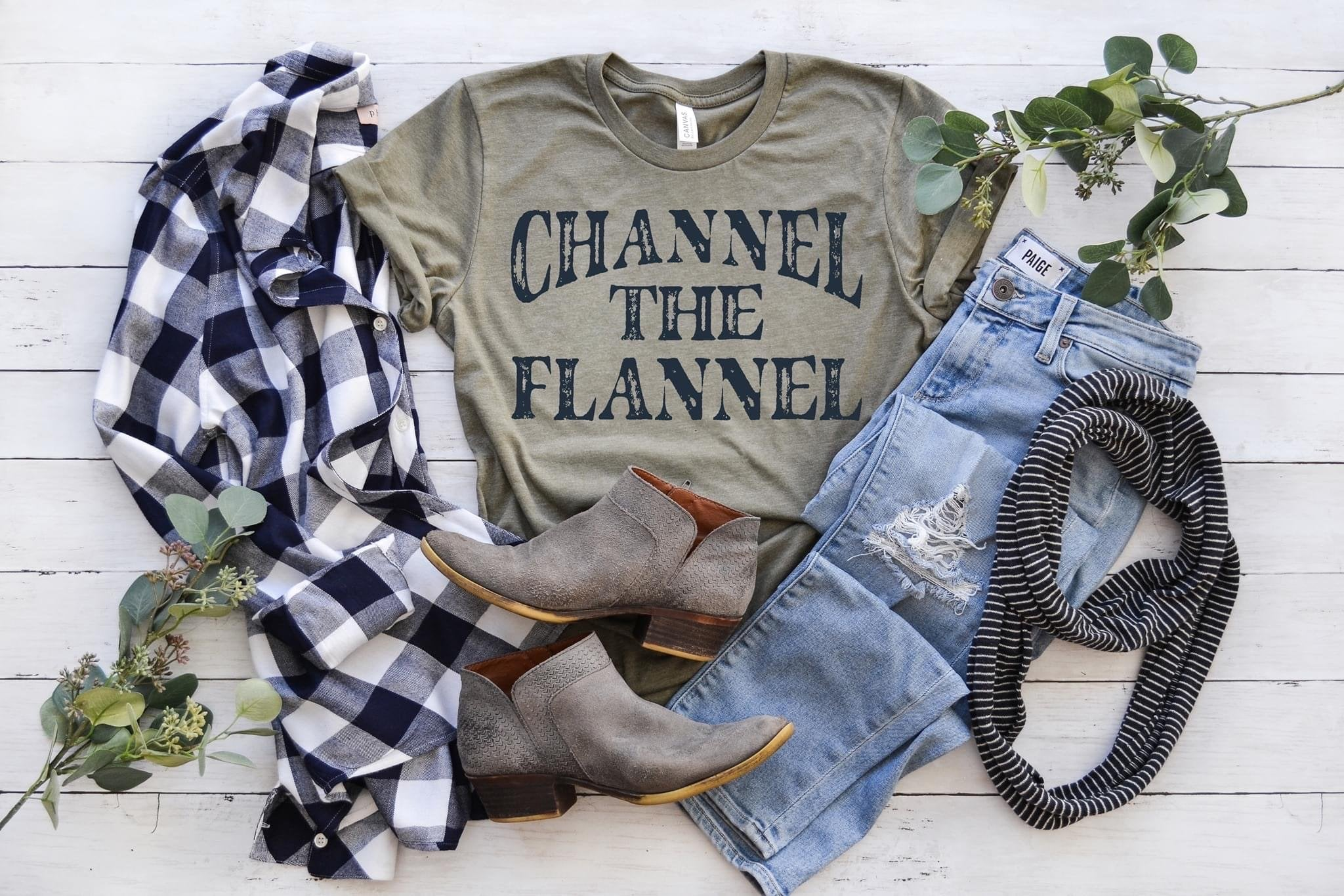 Channel The Flannel