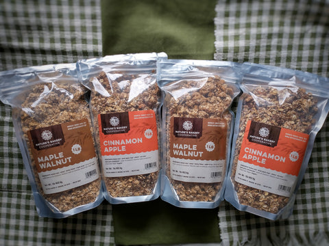 Variety pack - Four 1 pound bags of granola