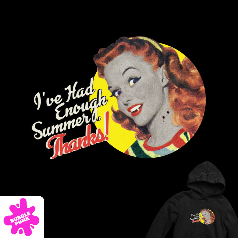 Enough Summer Hoodie
