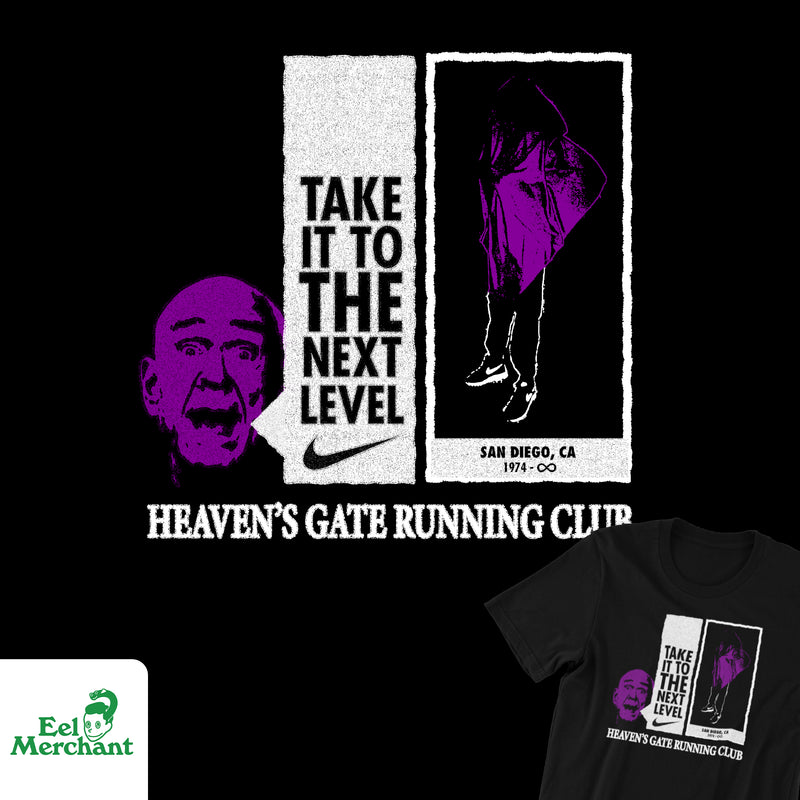 Heaven's Gate Running Club Tee