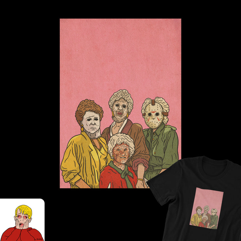 Golden Ghouls Tee