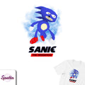 Sanic The Hedgehog Tee