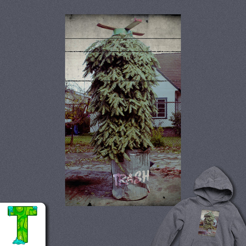 Christmas is Trash Hoodie