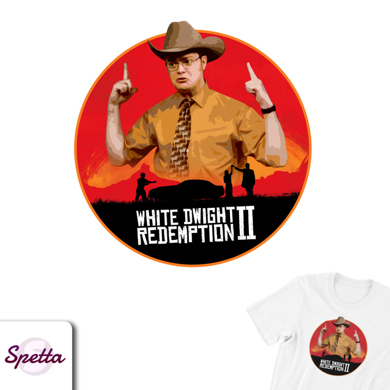 White Dwight Redemption II Tee