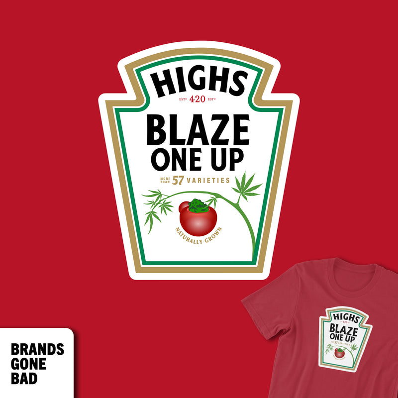 Highs Blaze One Up Tee