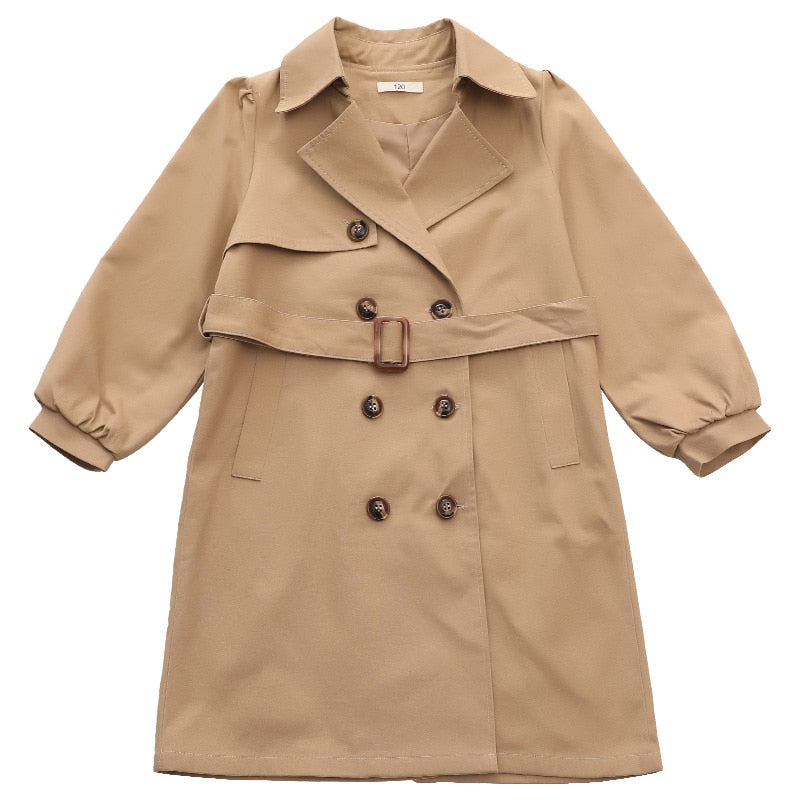 Get in the Trenches...Girl Coat!